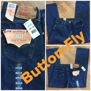 Levi's Original Fit 501 Button-Fly 33X30